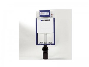 Geberit Kombifix Basic frame for wal-mounted toilet with Delta concealed cistern UP100 110100001
