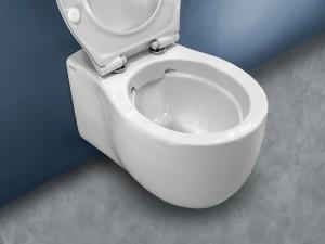 Hatria Le Fiabe Wall hung rimless WC pure rim