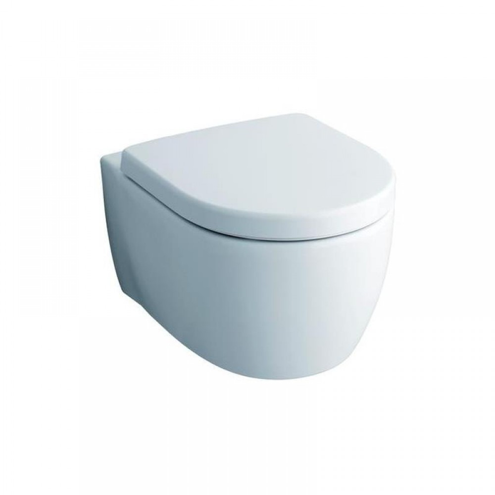Sehr Gut Keramag iCon toilet seat according to DIN 19516 with soft-close  DU64