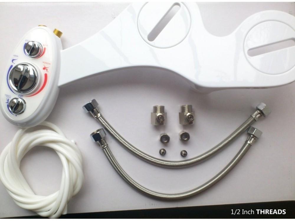 maro ch11 Hygiene Bidet Warm Water Spray Douche Toilet system Hydraulic no electrics needed