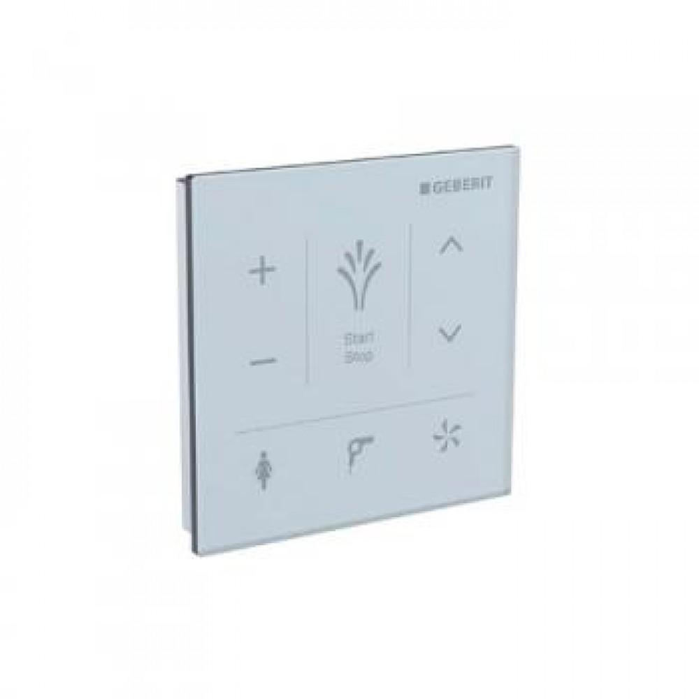 geberit aquaclean mera wall panel white glass 147038si1. Black Bedroom Furniture Sets. Home Design Ideas