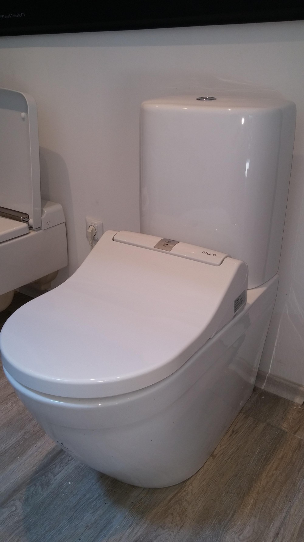 maro d'italia di600 maro di600 toto nc rimless toilet pan close coupled one piece