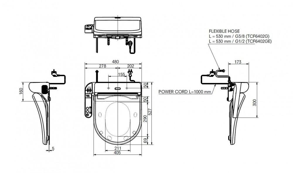 Toto Washlet Ek Japanese Toilet Bidet Seat Tooaleta