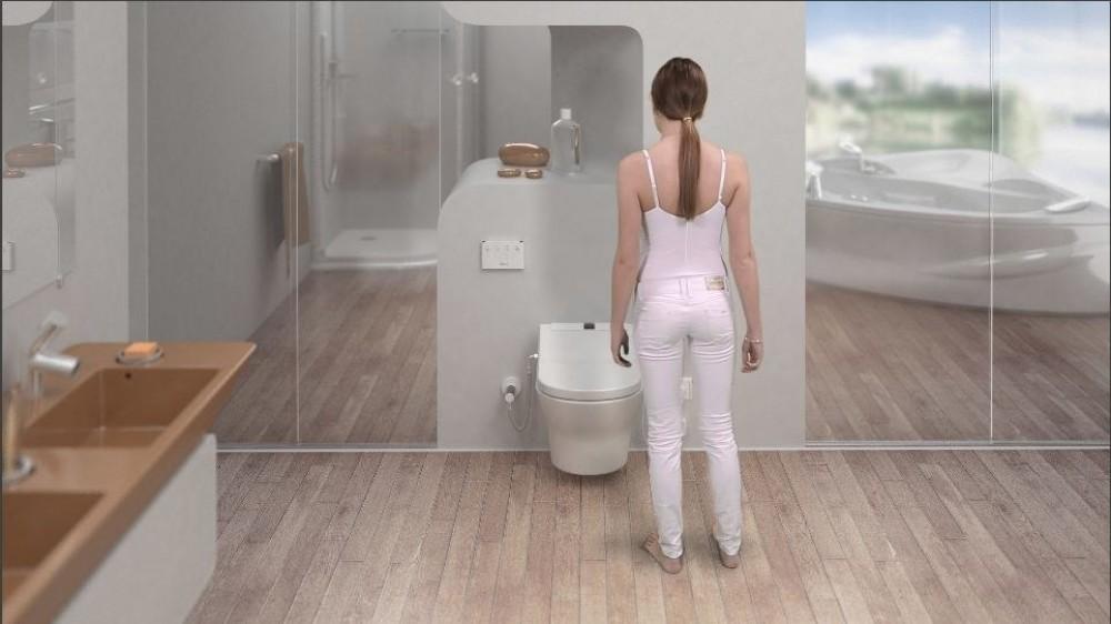 shower toilet washlet maro d'italia di600 aqualet
