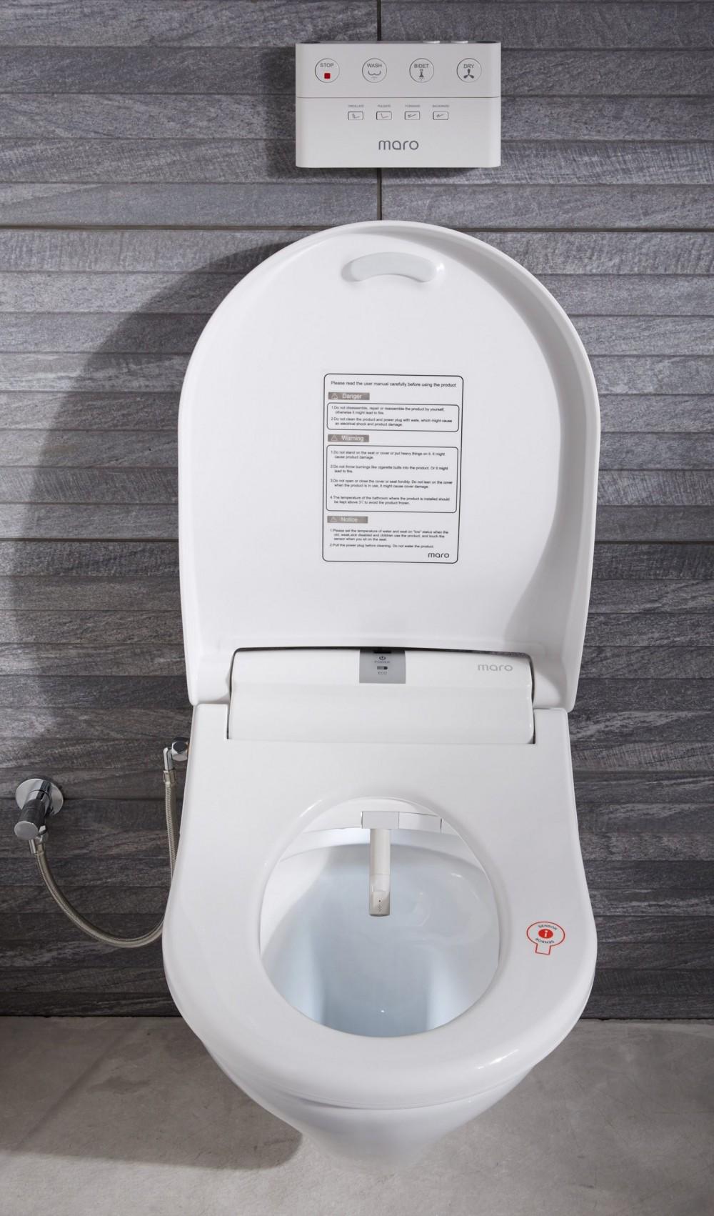 Maro D Italia Di600 Premium Italian Design Toilet Bidet