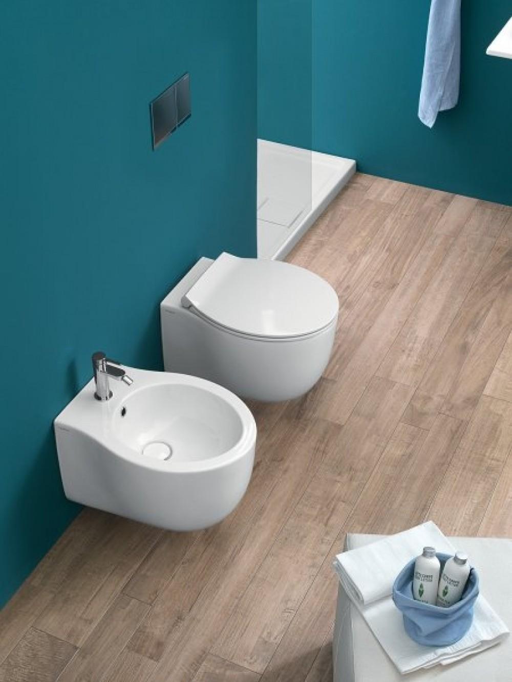 Hatria Le Fiabe Wall Hung Rimless Wc Tooaleta Toilette Und Bidet Design Hatria