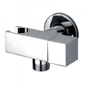 "Maro D'Italia  angled isolating valve with bracket, holder and water flow regulation / Ø22 - G1/2"""