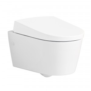 Geberit AquaClean Sela Shower toilet complete, wall-mounted, with anal shower 146140111